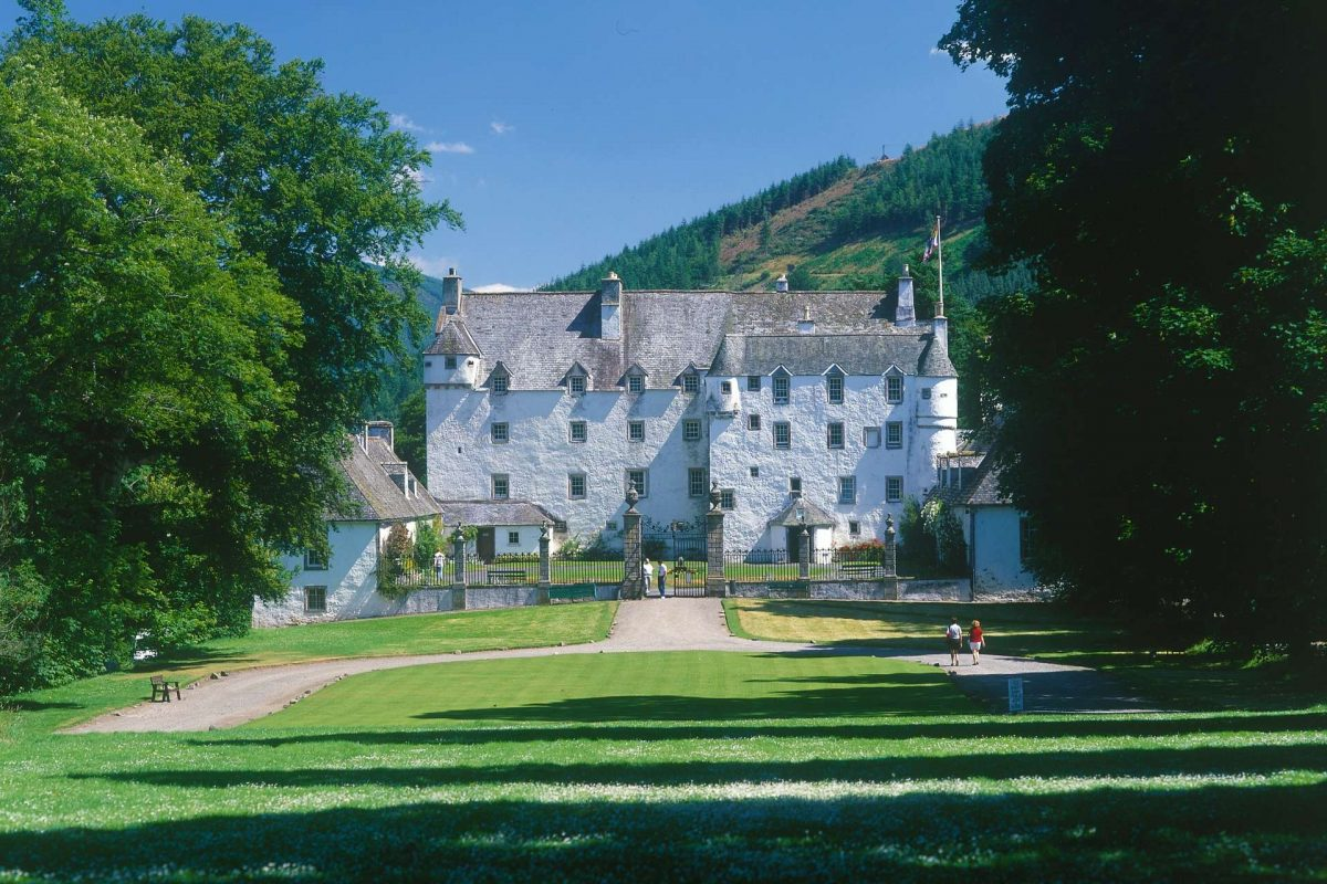 Historic Traquair House, Innerleithen, Scottish Borders