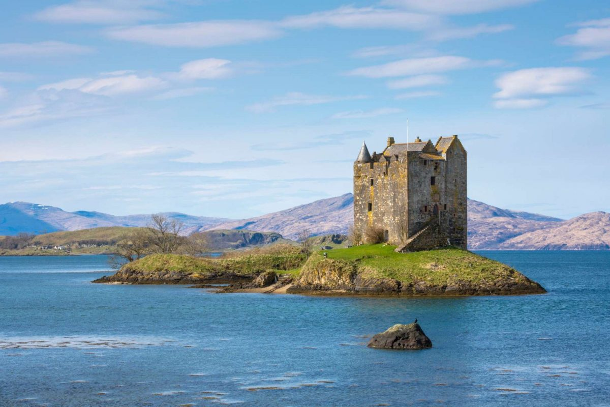 Castle Stalker by Appin, Argyll and The Isles