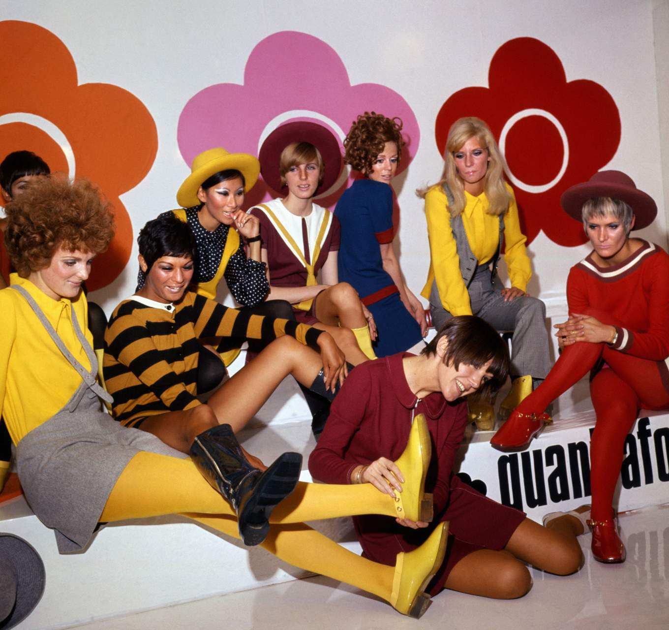 Mary Quant Exhibition © PA Images