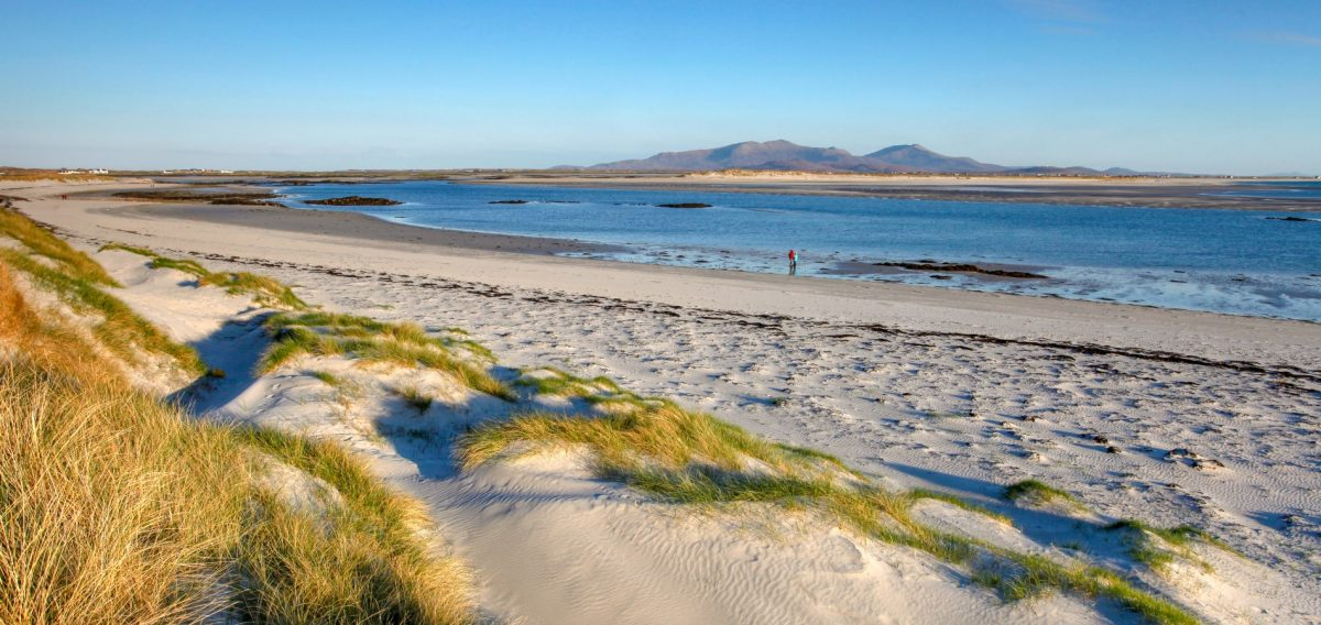 The beach at Liniclate, Benbecula