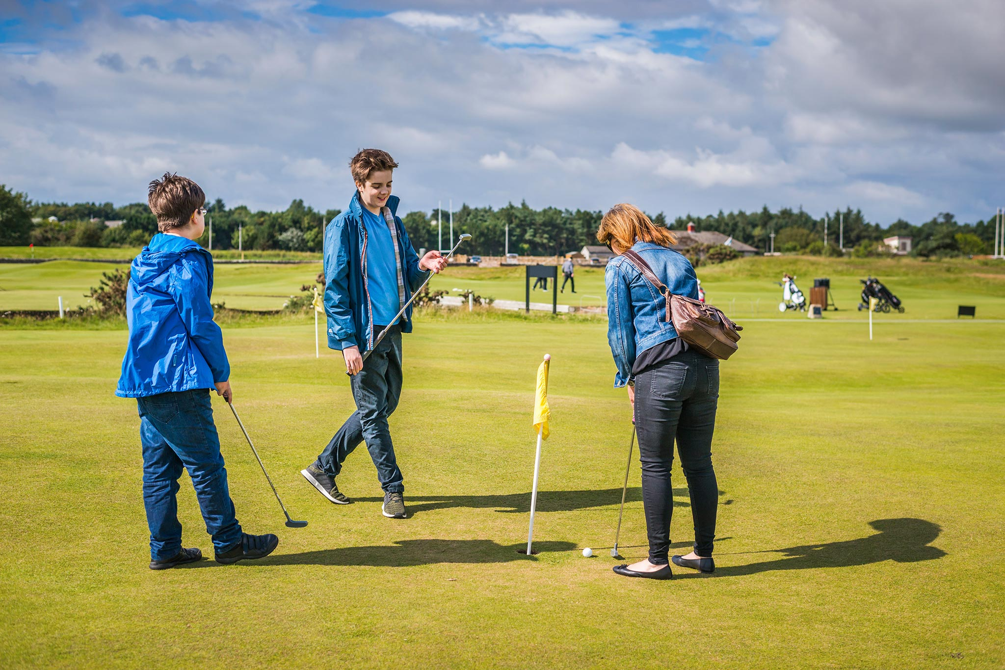 The St Andrews Ladies' Putting Club
