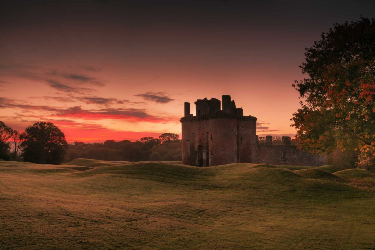 Stunning Caerlaverock Castle is adjacent to WWT Caerlaverock Nature Reserve
