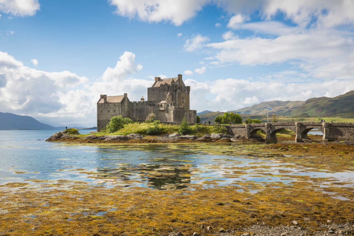 Eilean Donan is one of Scotland's most iconic castles, Kintail, Highlands