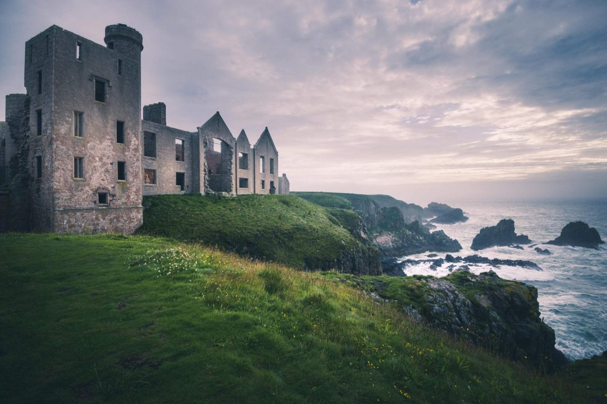 The haunting ruins of Slains Castle, Cruden Bay