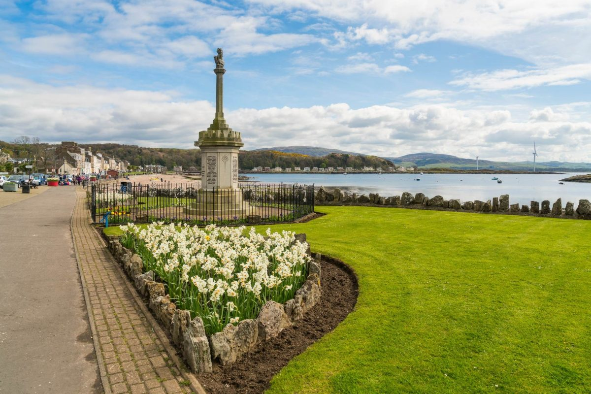 Millport Promenade, island of Great Cumbrae, Ayrshire
