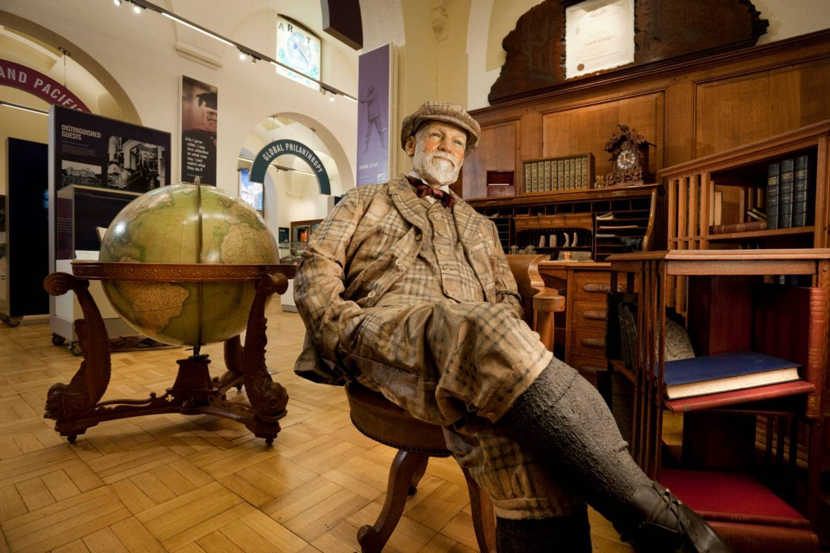 Andrew Carnegie Birthplace Museum, Dunfermline, Kingdom of Fife