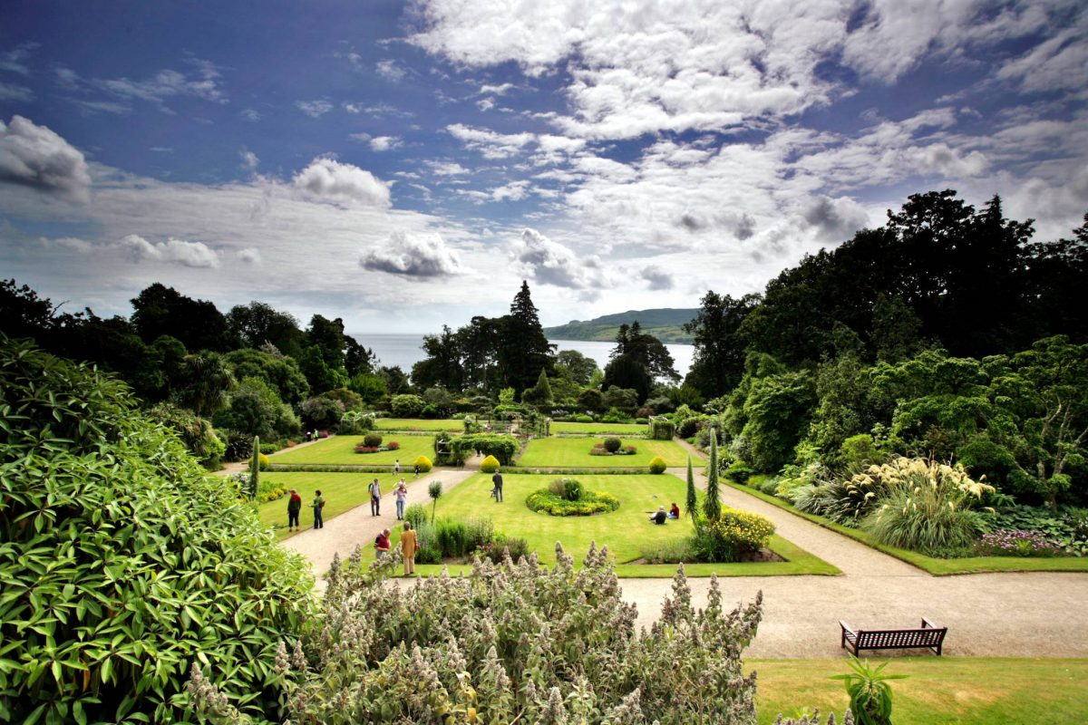 The gardens at Brodick Castle, Isle of Arran