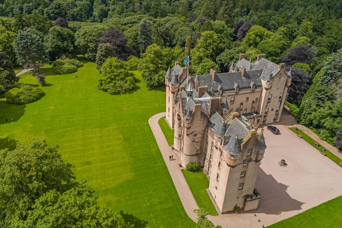 Fyvie Castle, by Turriff, Aberdeenshire