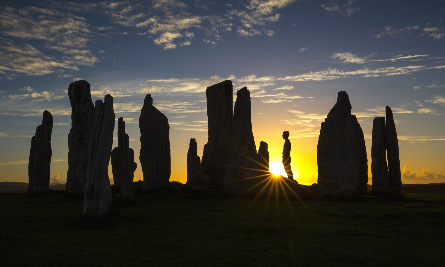The Calanais Standing Stones, Outer Hebrides