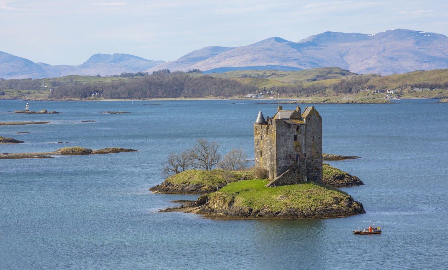 Castle Staker, Argyll and the Isles