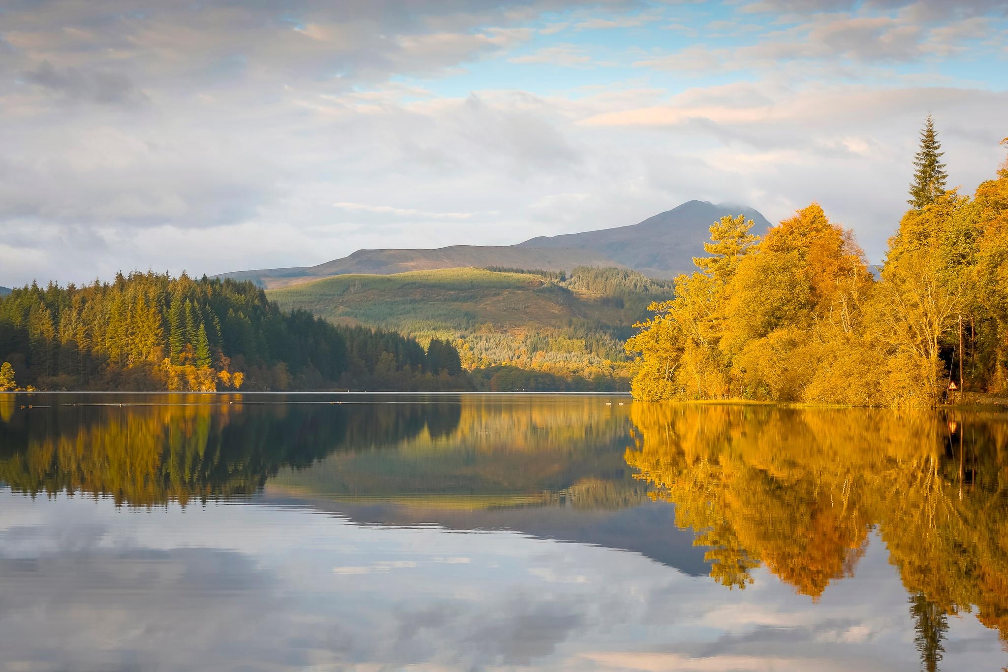 Loch Ard in Loch Lomond & The Trossachs National Park