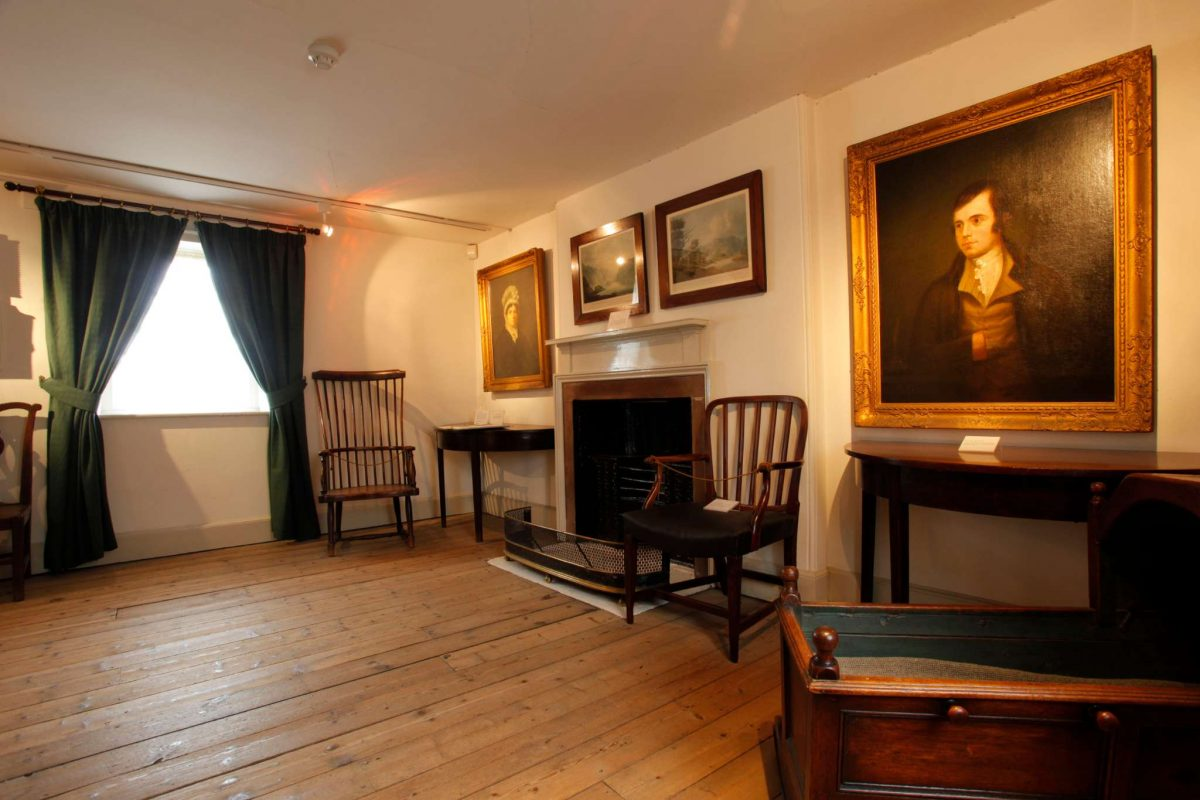 Robert Burns House Museum, Dumfries