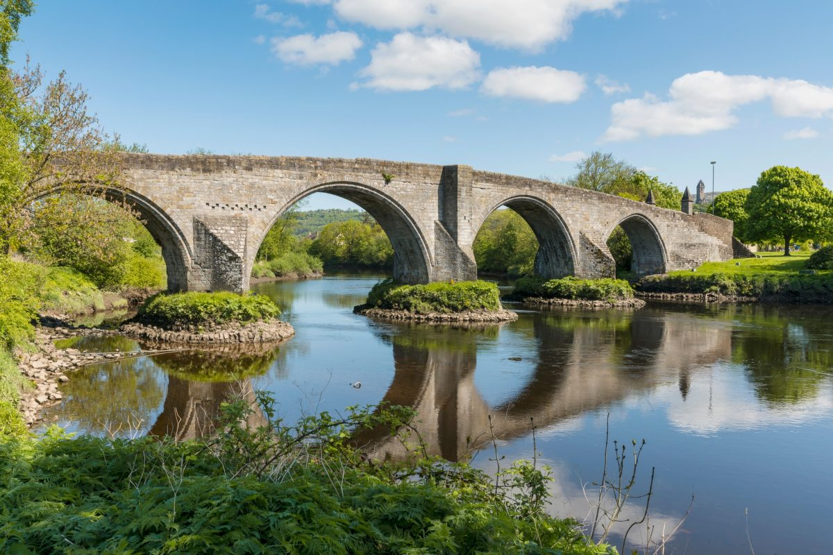 The bridge played a part in the Jacobite Rising of 1745. It remains one of the best medieval masonry arch bridges in Scotland.