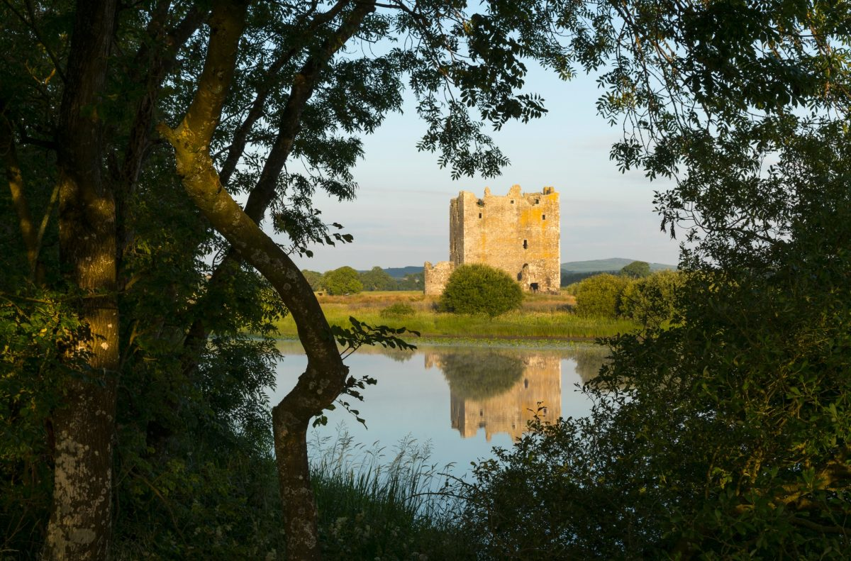 Threave Castle within the Threave Estate and Nature Reserve