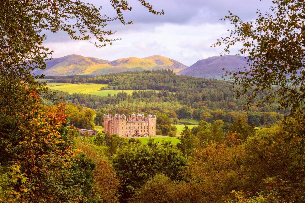 Magnificent Drumlanrig Castle, Dumfries & Galloway