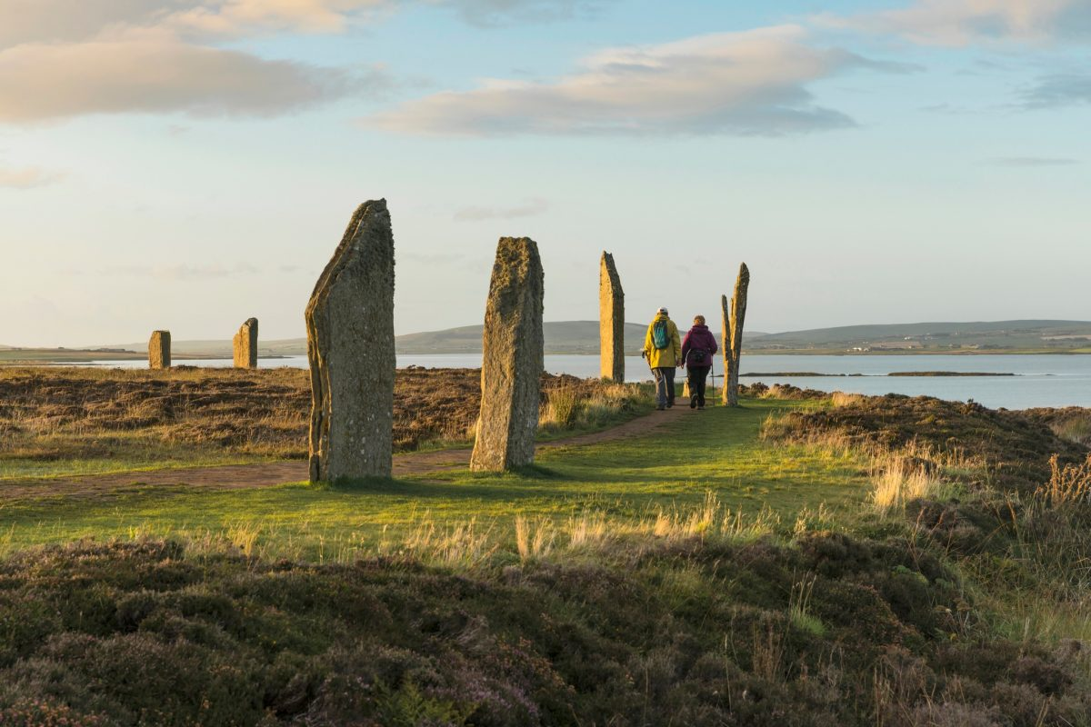 The Ring of Brodgar - part of the Heart of Neolithic Orkney World Heritage Site