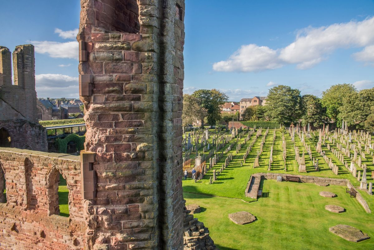 Arbroath Abbey from up high