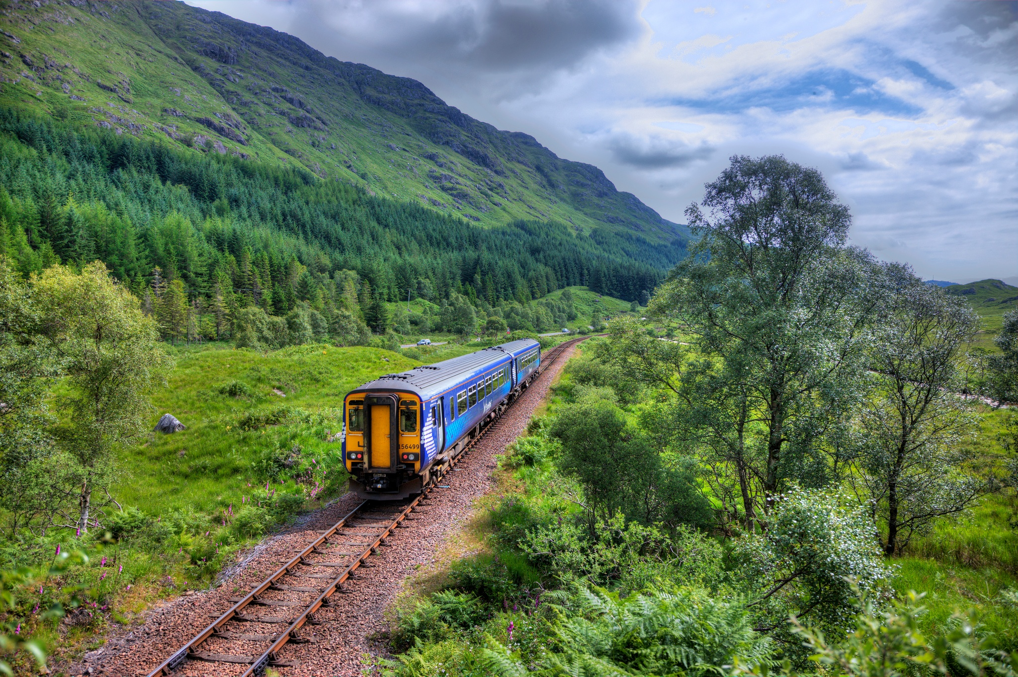 Scotrail Trail Glenfinnan, Fort William