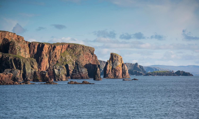 Hillswick sea stacks, Eshaness, Northmavine