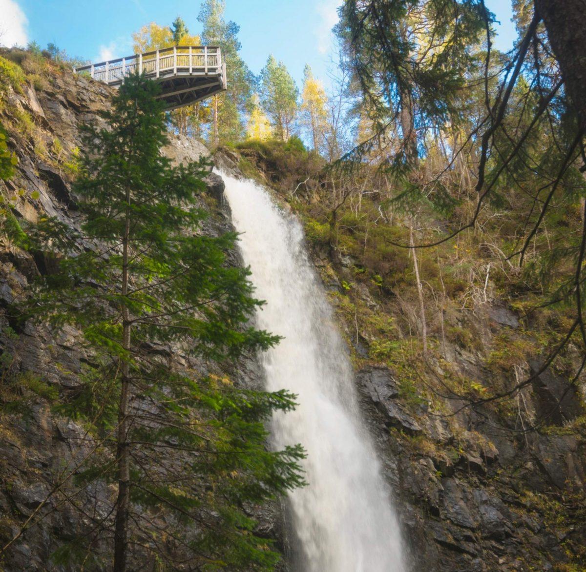 Plodda Falls, Glen Affric, Highlands