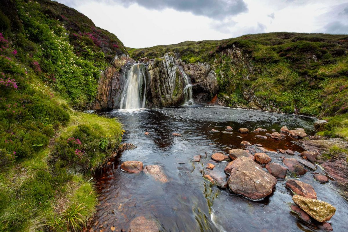 Ramnahol Waterfall, Mainland, Shetland