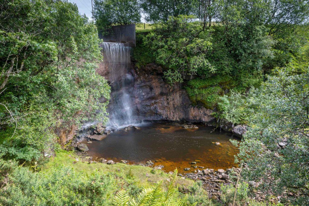 Greenock Cut Waterfall at Clyde Muirshiel Regional Park, Inverclyde