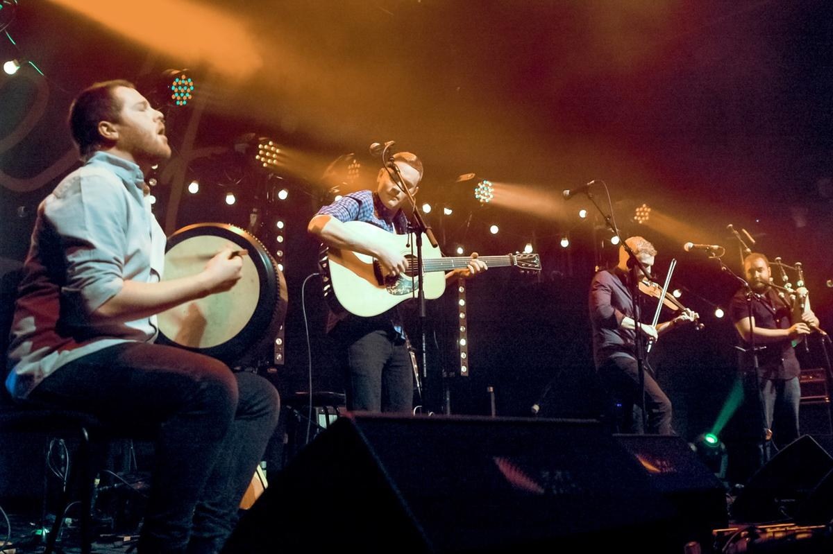 Rura performing at Celtic Connections