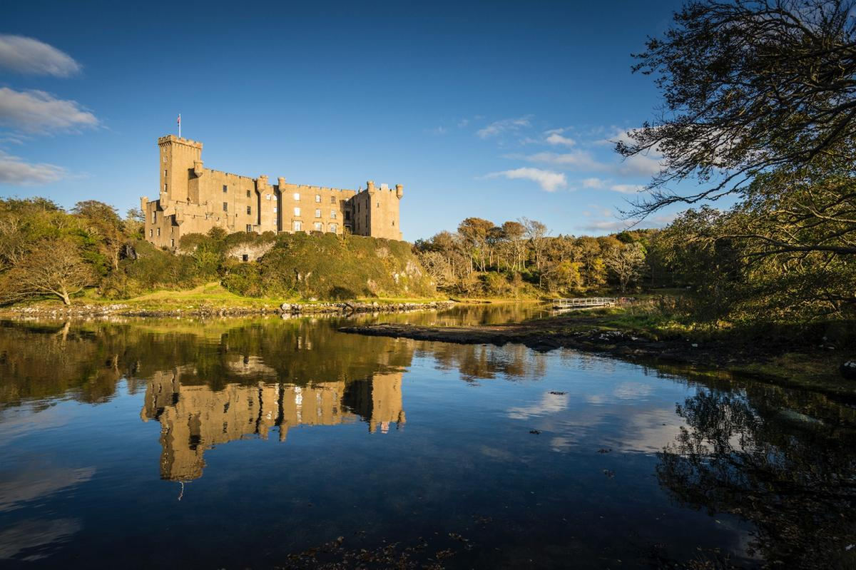 Dunvegan Castle, Isle of Skye, home to the chief of Clan Macleod