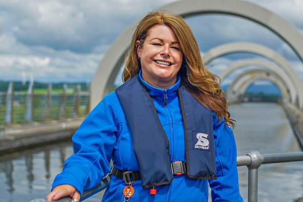 Myra Wilson, who works at Scottish Canals