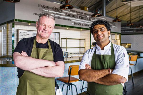 Roy and Ishu, The Fishmarket Newhaven