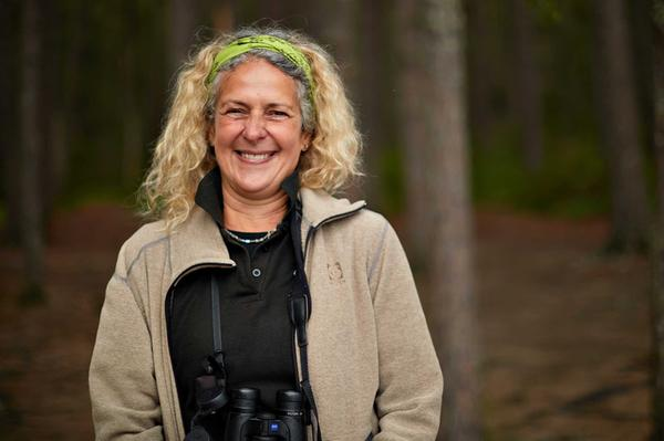 Sally Dowden, who owns Speyside Wildlife