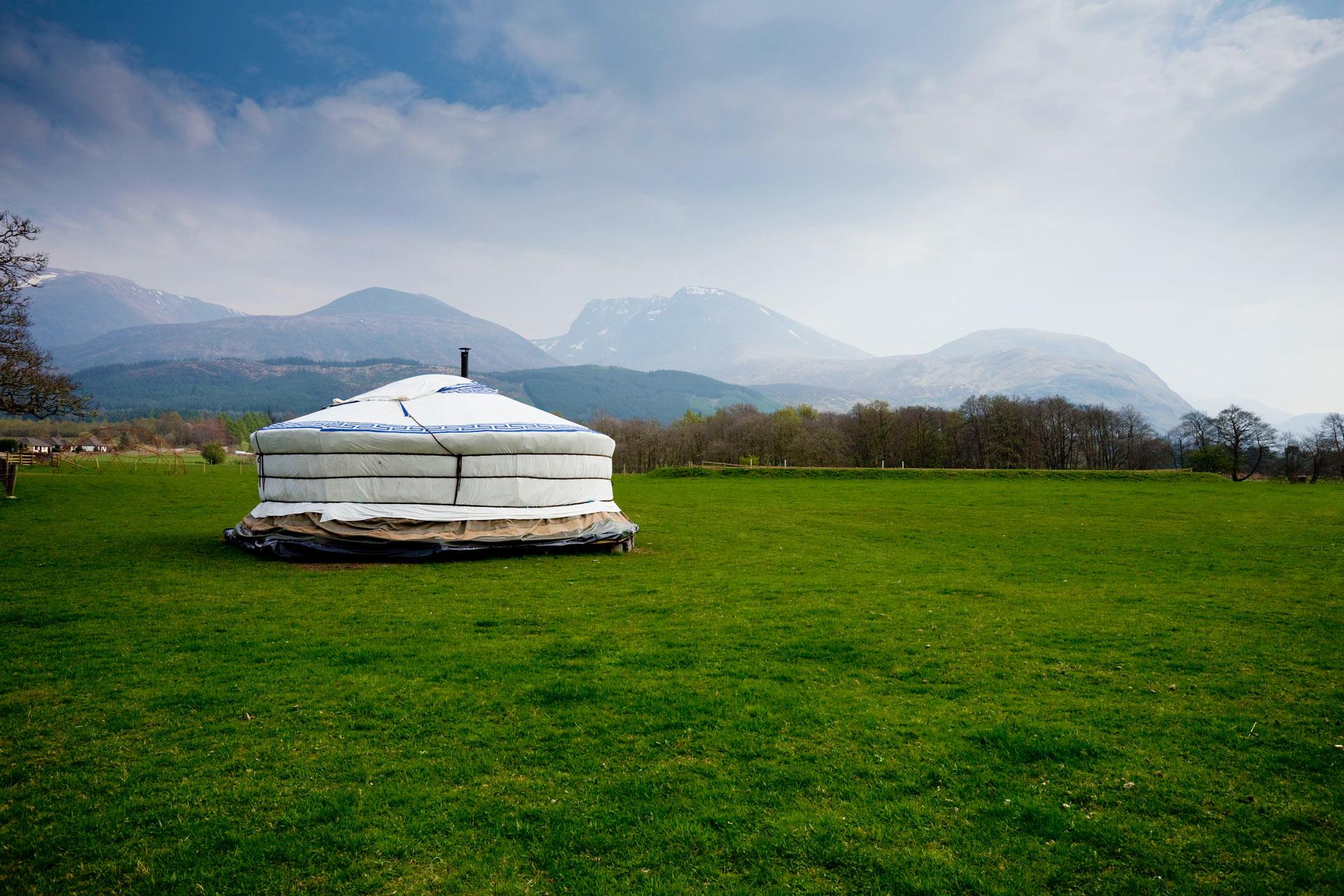 Outer hebrides yurt