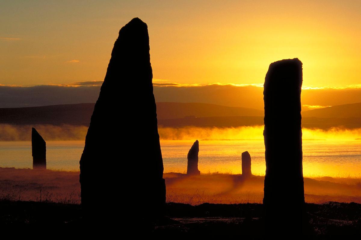 Ring of Brodgar dawn