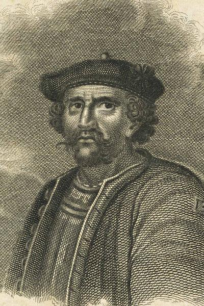An illustration of Rob Roy Macgregor © Richard Cooper / Scottish National Portrait Gallery