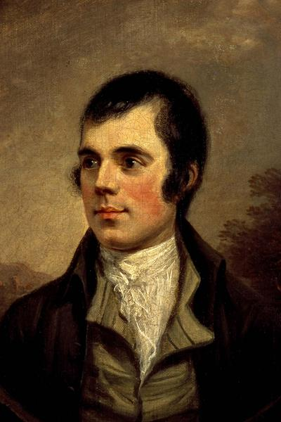 Une peinture de Robert Burns © Scottish National Portrait Gallery