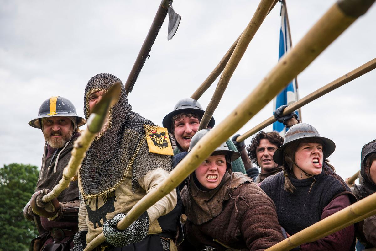Warriors spears Bannockburn Live