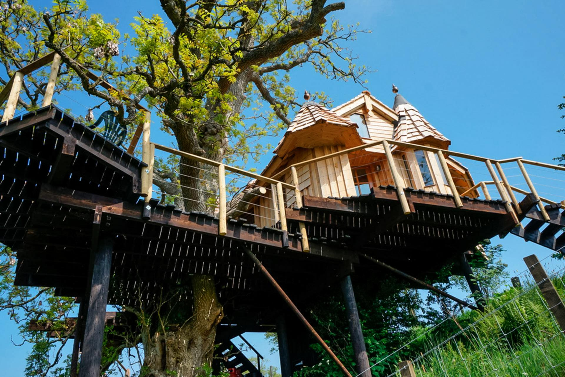 Attractive Treehouse In Scotland Part - 7: VisitScotland