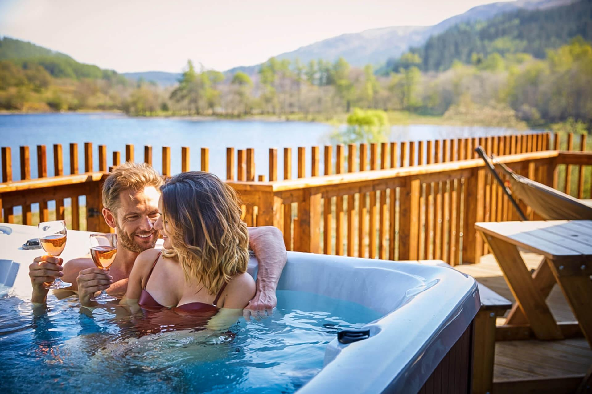 Log Cabins And Lodges With Hot Tubs In Scotland Visitscotland