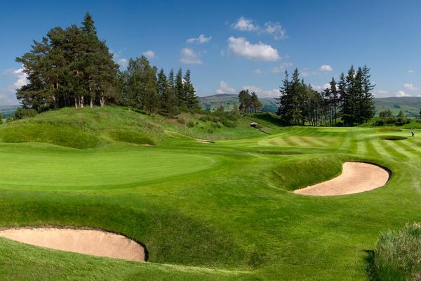 Looking across the King's Course at Gleneagles © Gleneagles/Ian Haddow