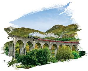 Glenfinnan Viaduct, The Highlands
