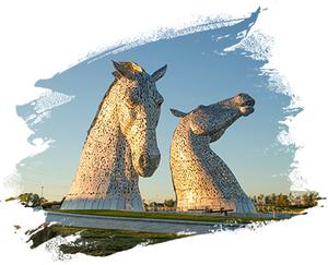 The Kelpies by Andy Scott, Falkirk