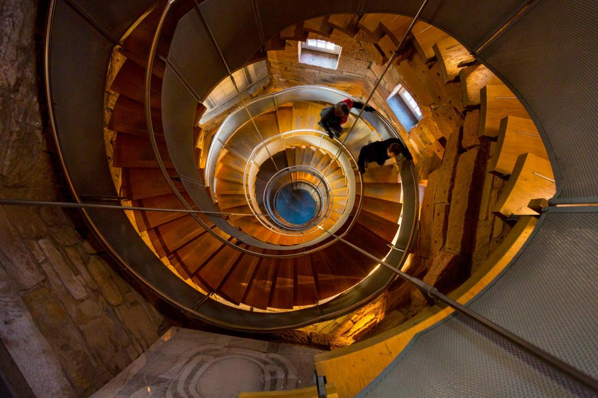 The Lighthouse staircase Mackintosh Tower architecture
