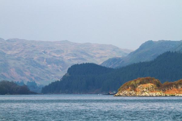 Loch Craignish seen from a Craignish Cruise to see the Corryvreckan Whirlpool and wildlife