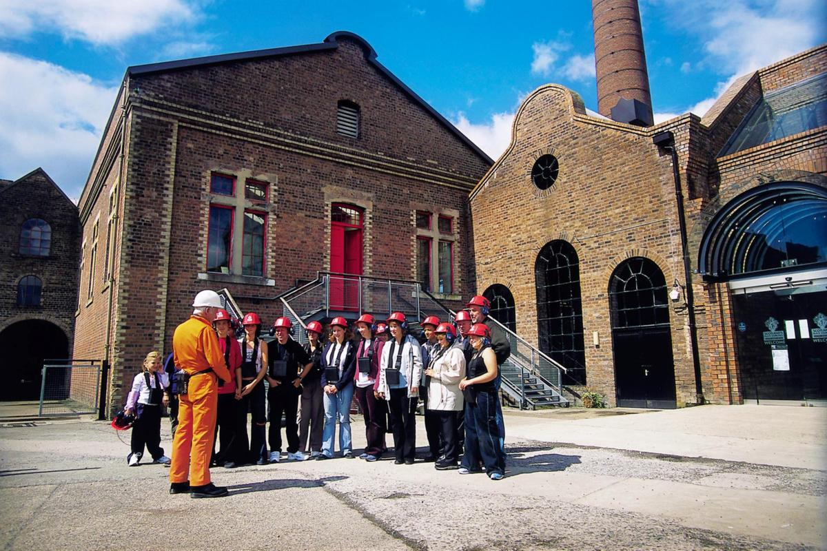 National Mining Museum group talk