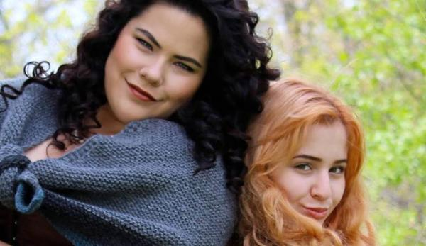 Sasha Alsberg and Tasha Polis on their Outlander adventure