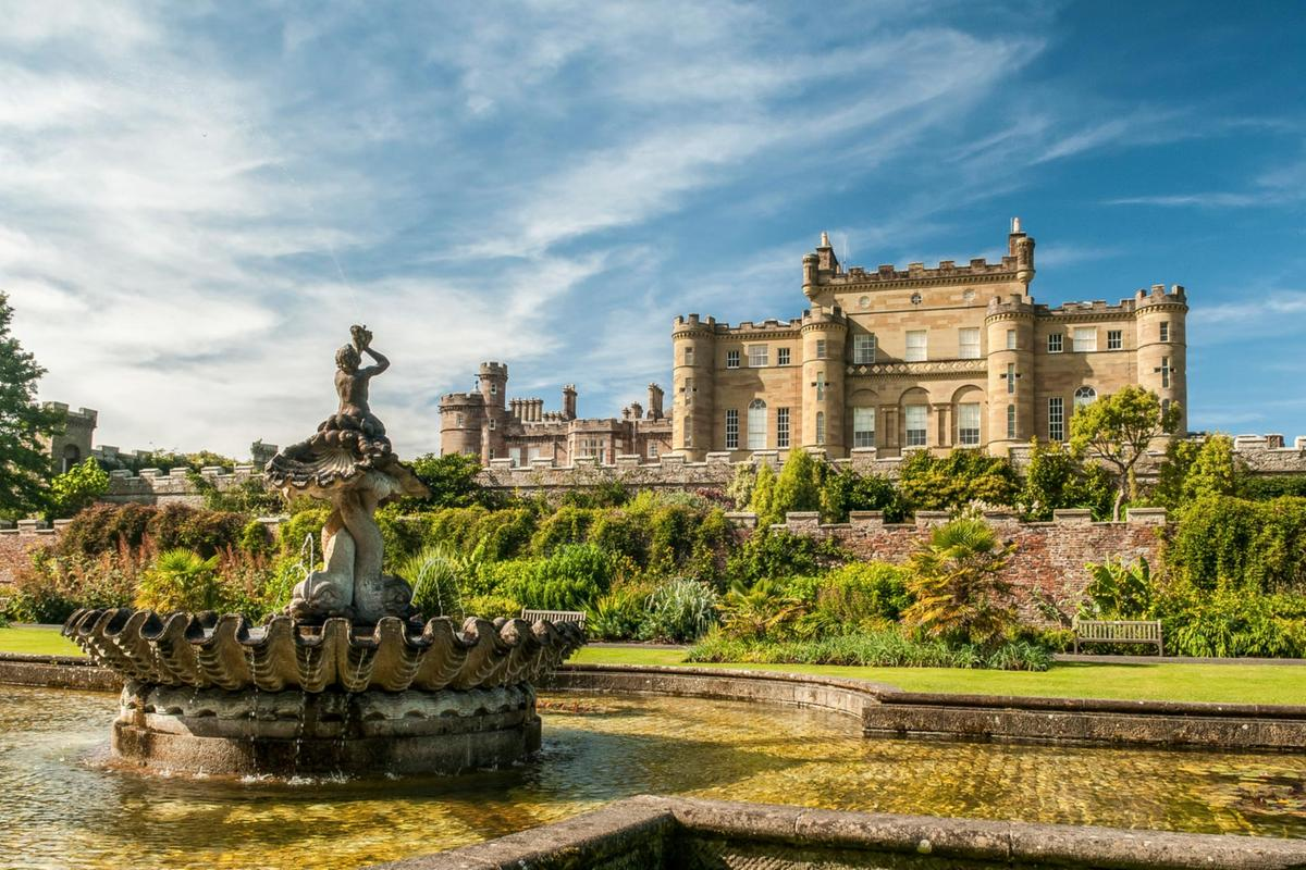 Culzean Castle fountain