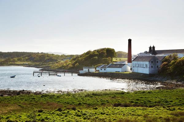 Lagavulin Distillery on the Isle of Islay, Inner Hebrides