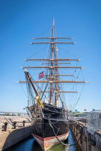 The RRS Discovery berthed at Discovery Point in Dundee