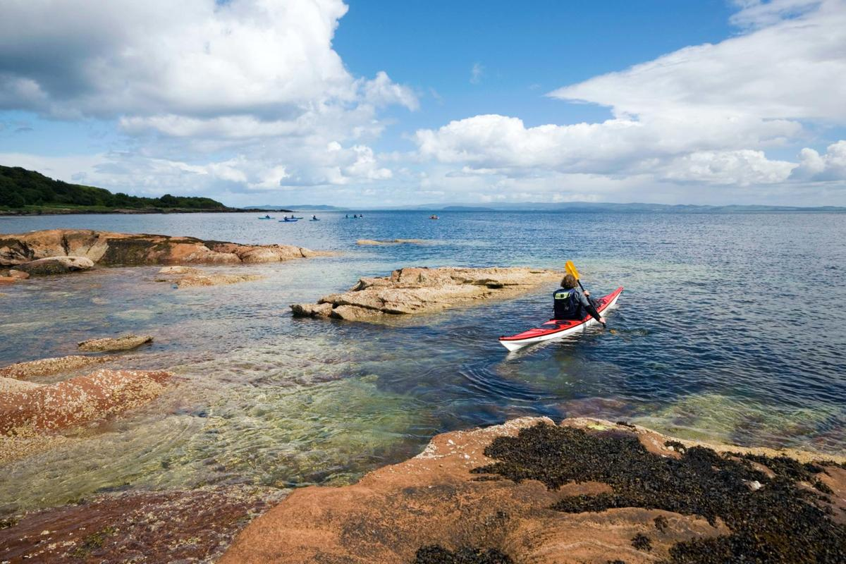 Sea kayaking Brodick