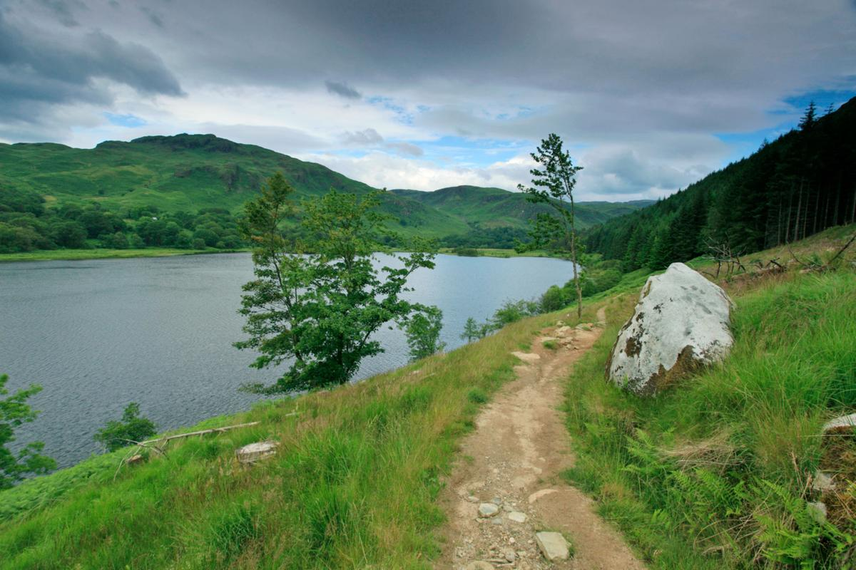 Southern Upland Way Loch Trool